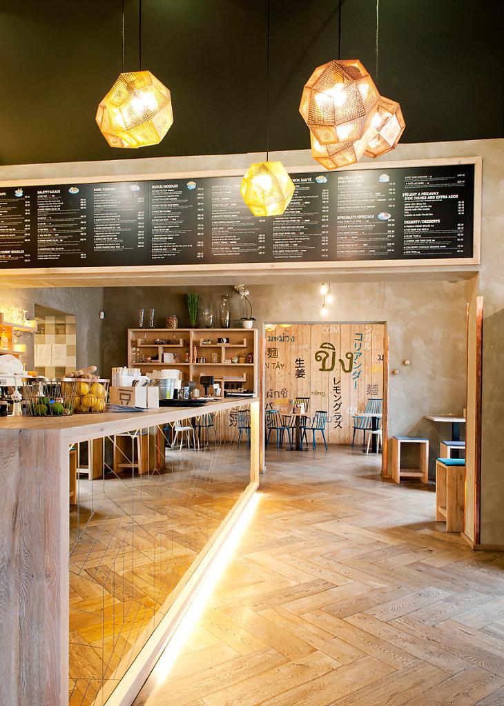 Restaurant Modry Zub - Prague